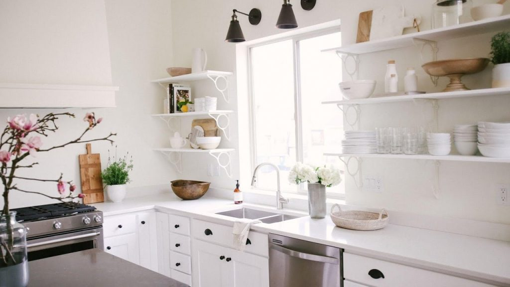 How To Style A Minimalist Kitchen Youtube