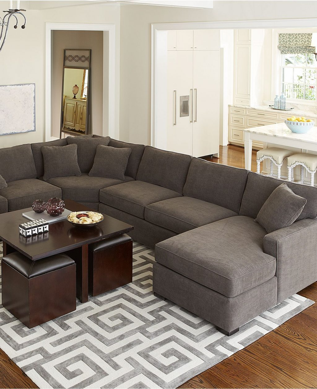 I Can Totally See A Sectional In Our New Home Radley Fabric