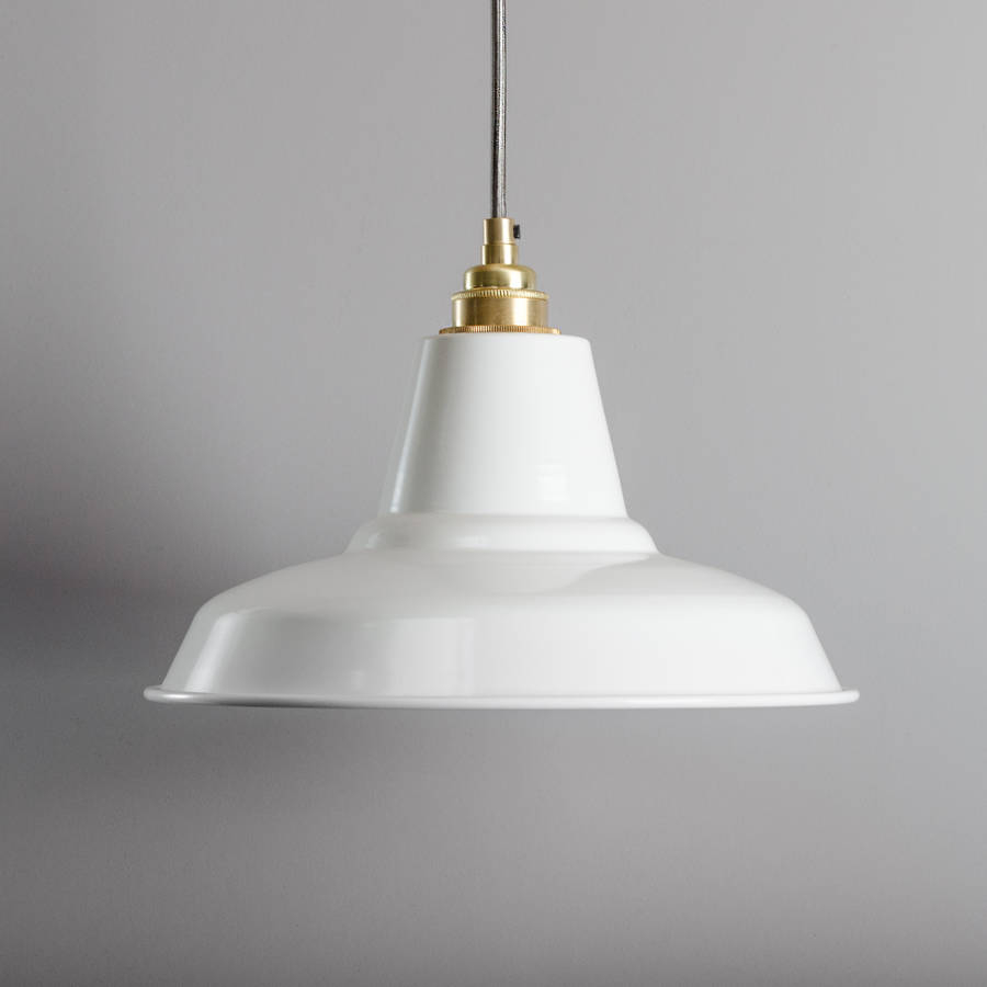 Industrial Pendant Light Bare Bones Lighting Notonthehighstreet