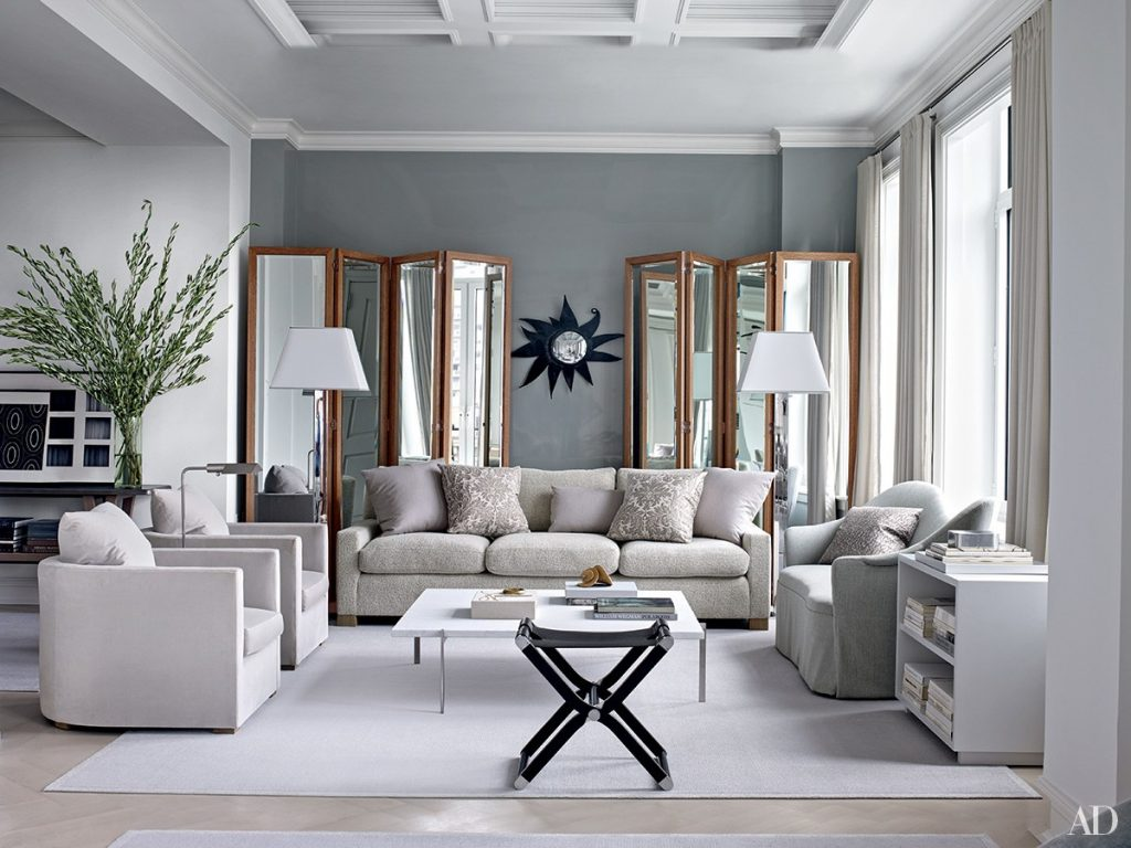 Inspiring Gray Living Room Ideas Architectural Digest