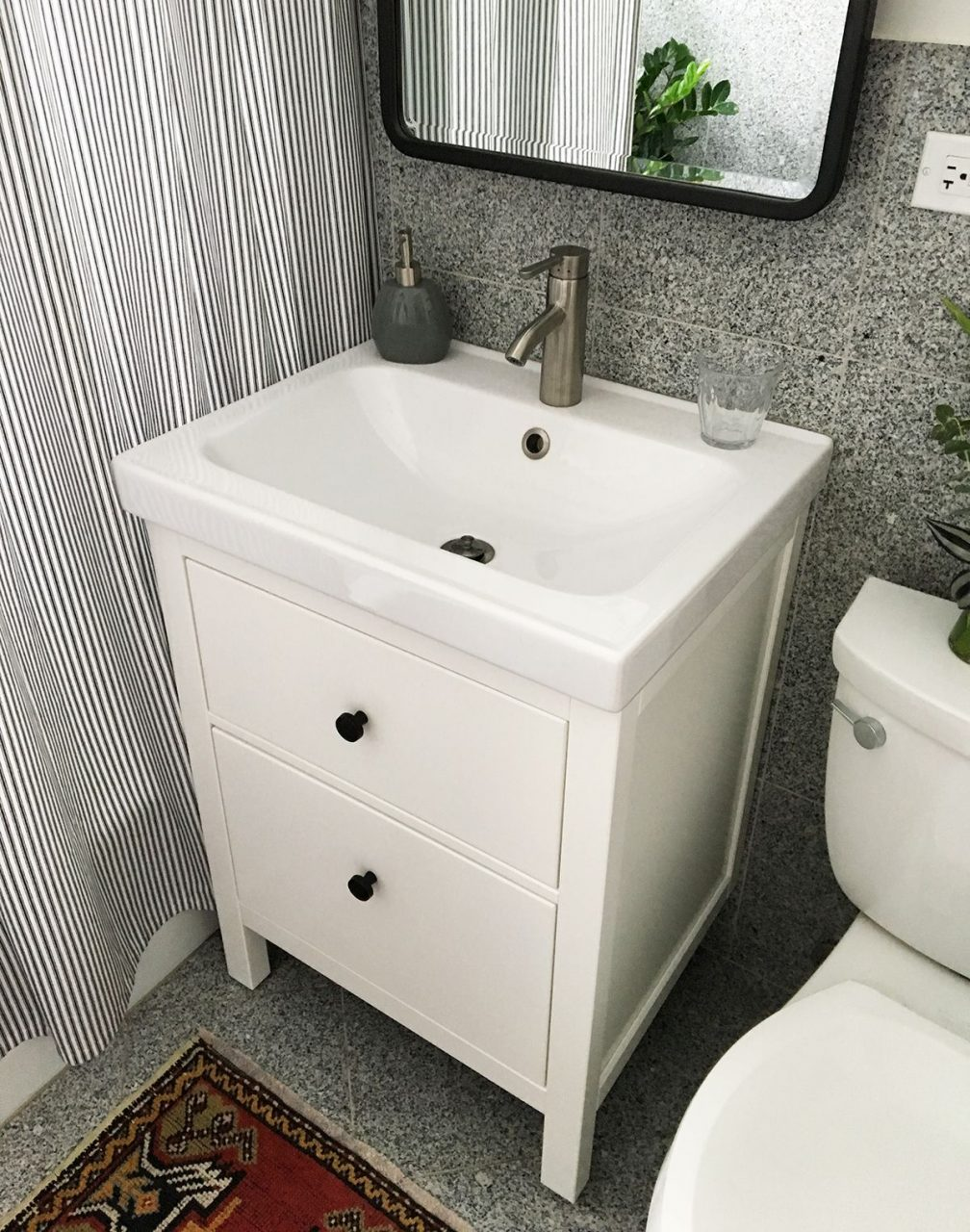 Installing A Hemnes Odensvik Bathroom Vanity And Sink Diy In