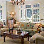 Interior French Country Interior Ideas With Comfortable Living Room