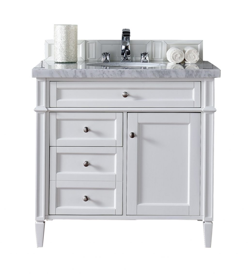James Martin Furniture Brittany 36 Single Bathroom Vanity Base Only
