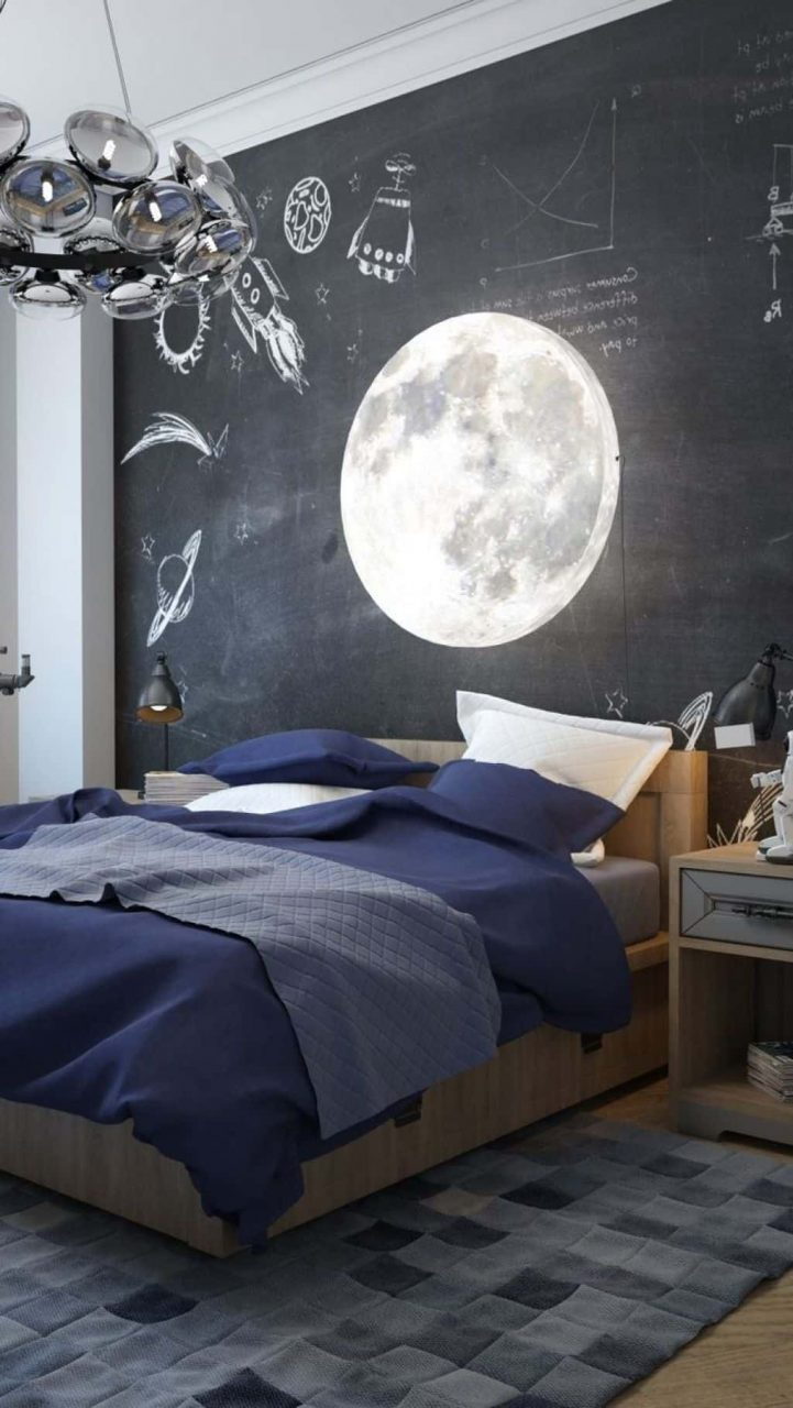Kids Bedroom With Chalkboard Paint Decorate Your Walls With