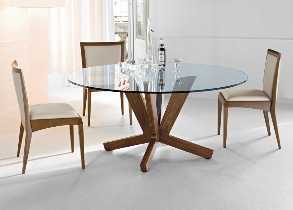 Kitchen Dining Round Glass Table For Small Dining Room Dining Room
