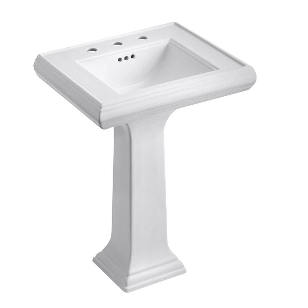 Kohler Memoirs Ceramic Pedestal Combo Bathroom Sink With Classic