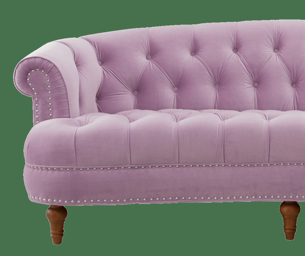 La Rosa Chesterfield Sofa Lavender Jennifer Taylor Home