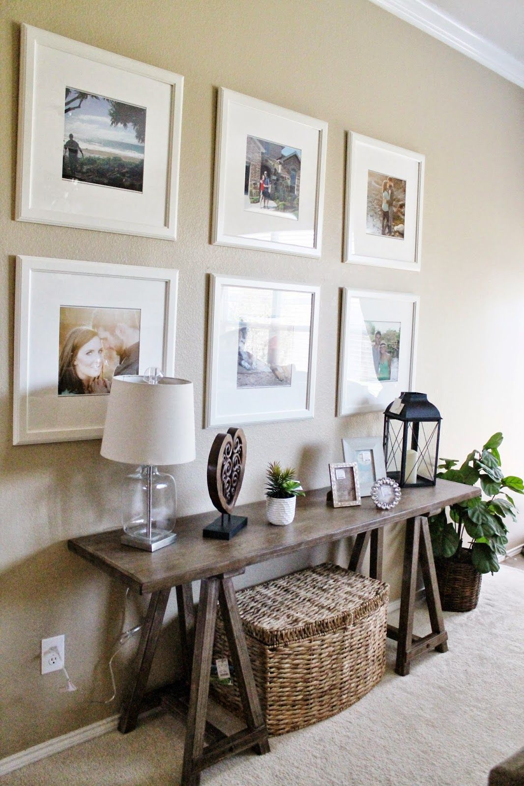 Living Room Decor Ikea Picture Frame Gallery Wall Sofa Table