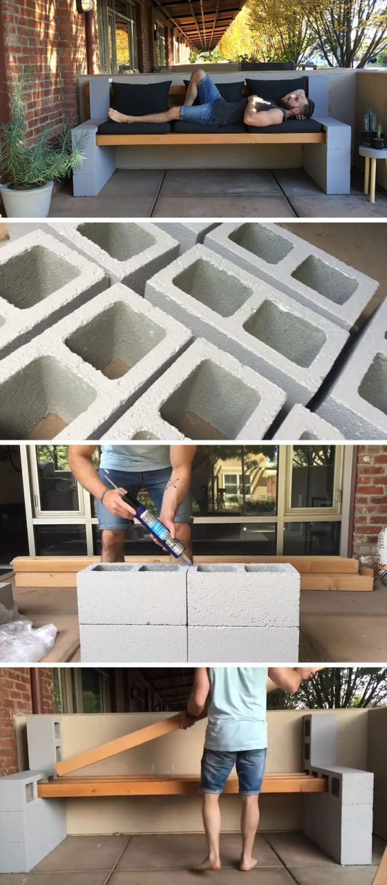 Make Your Own Inexpensive Outdoor Furniture With This Diy Concrete
