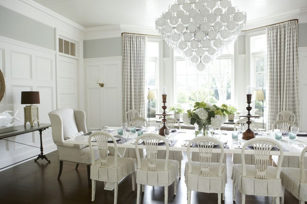 Mayjune Sneak Peek An All White Dining Room Timothy Whealon