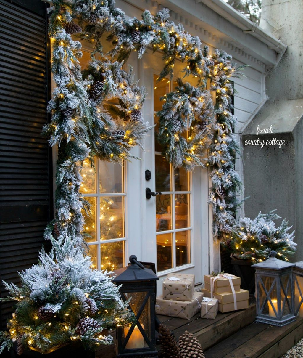Merry Bright Christmas Outdoors Homes Pinterest Christmas