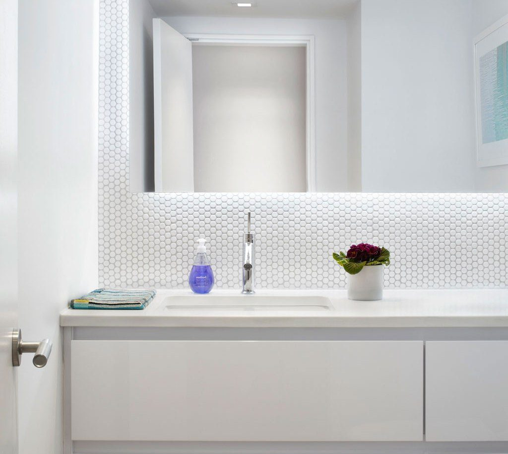 Modern White Bathroom Vanities Jscott Interiors