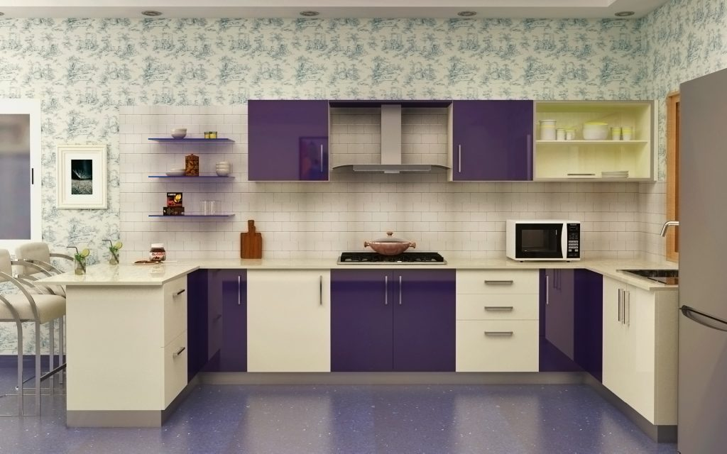 Modular Kitchen Designs And Colors Kitchen Design