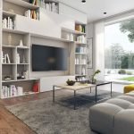 Multifunctional Living Room Space