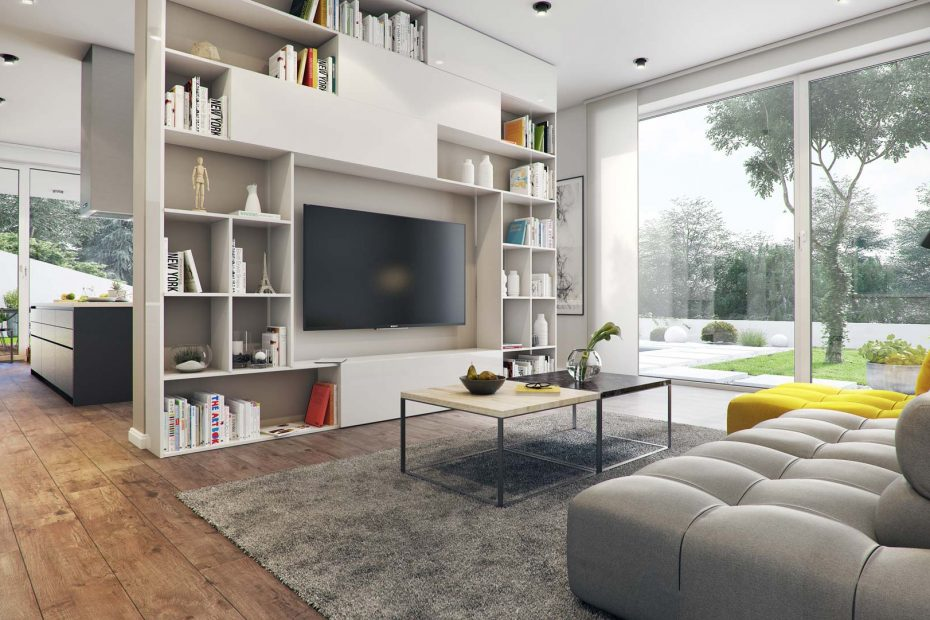 Multifunctional Living Space Gallery Area Autodesk