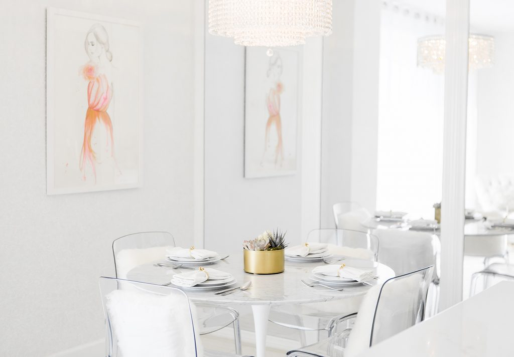 New Dining Room Peek Home Design Decorating