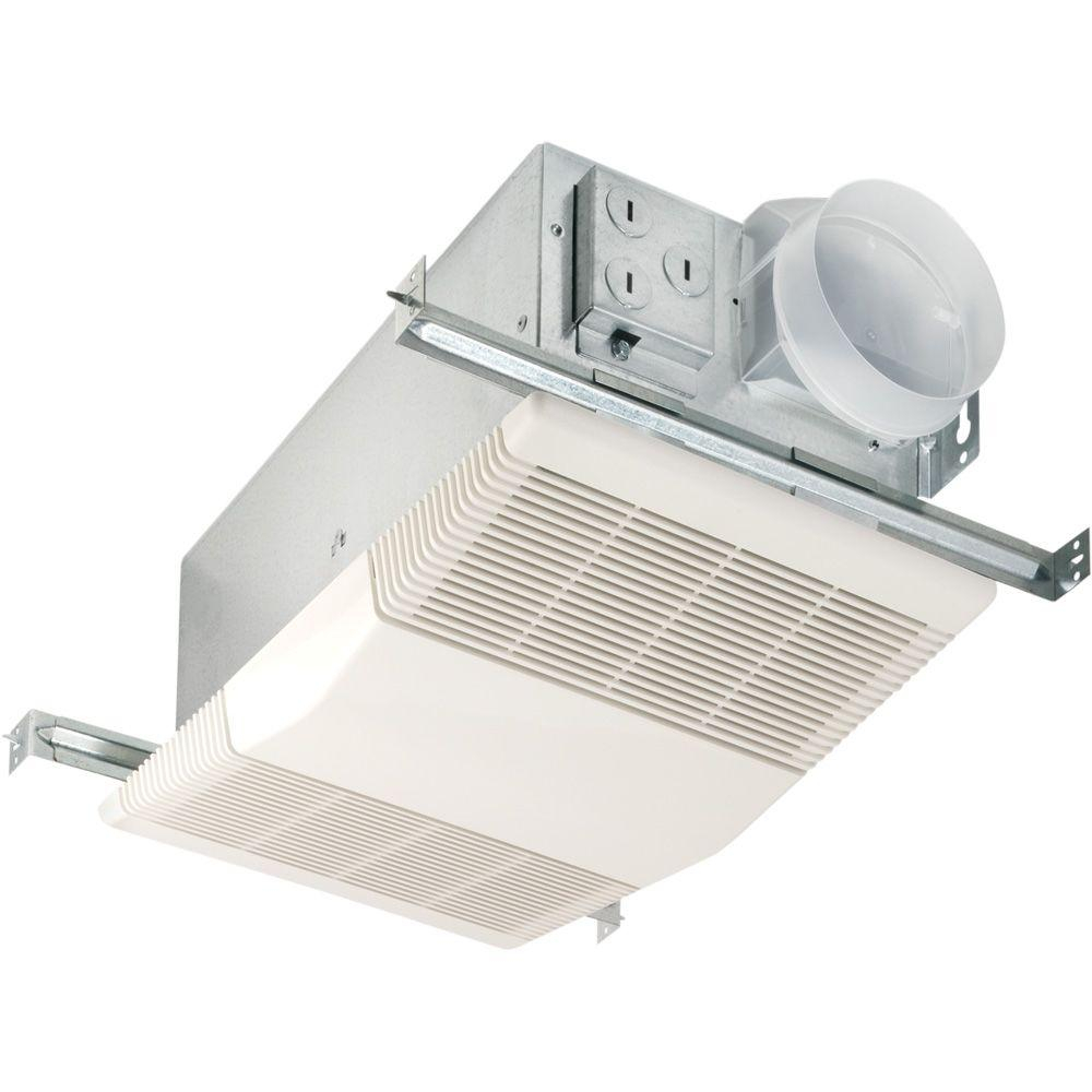 Nutone Heat A Vent 70 Cfm Ceiling Bathroom Exhaust Fan With 1300