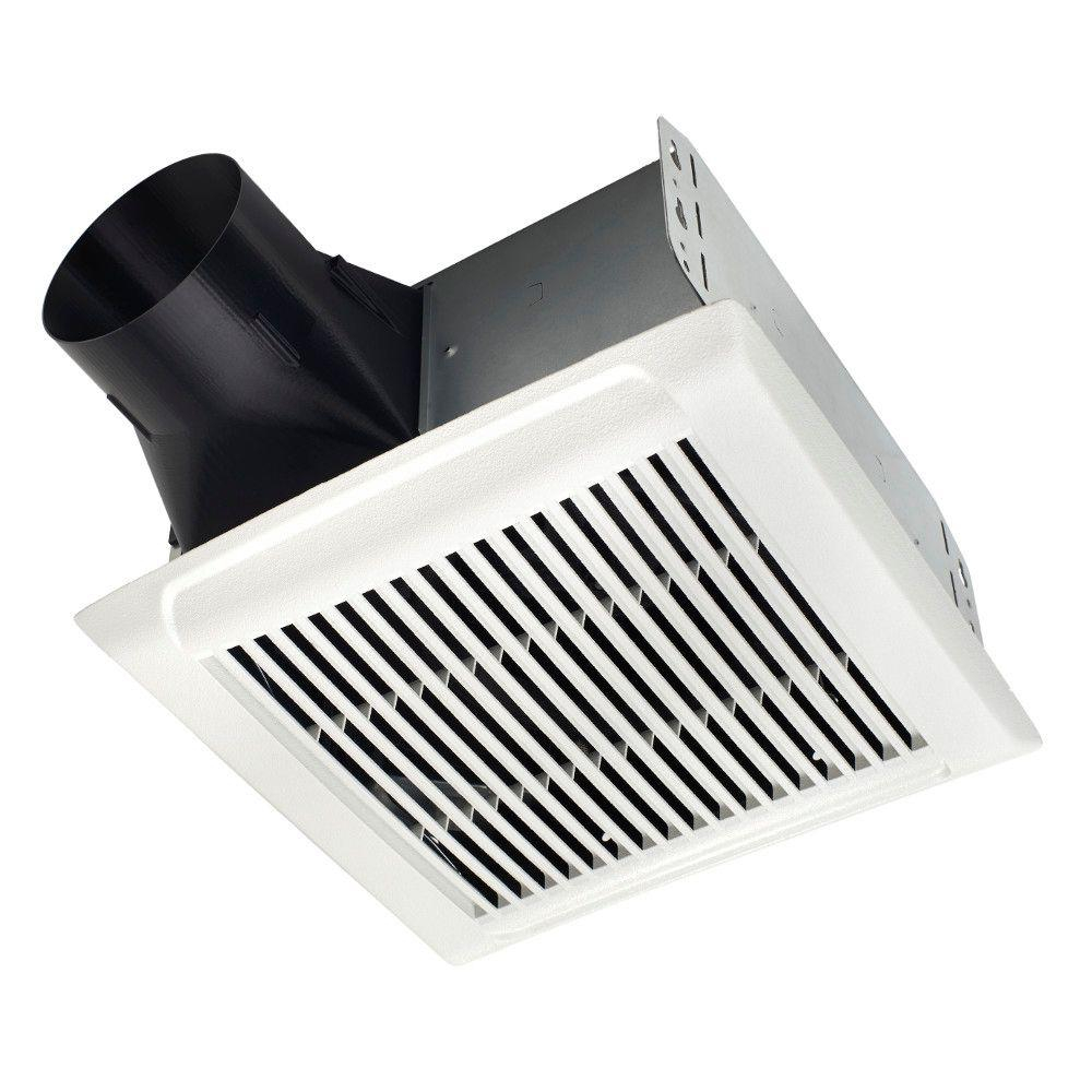 Nutone Invent Series 80 Cfm Ceiling Roomside Installation Bathroom