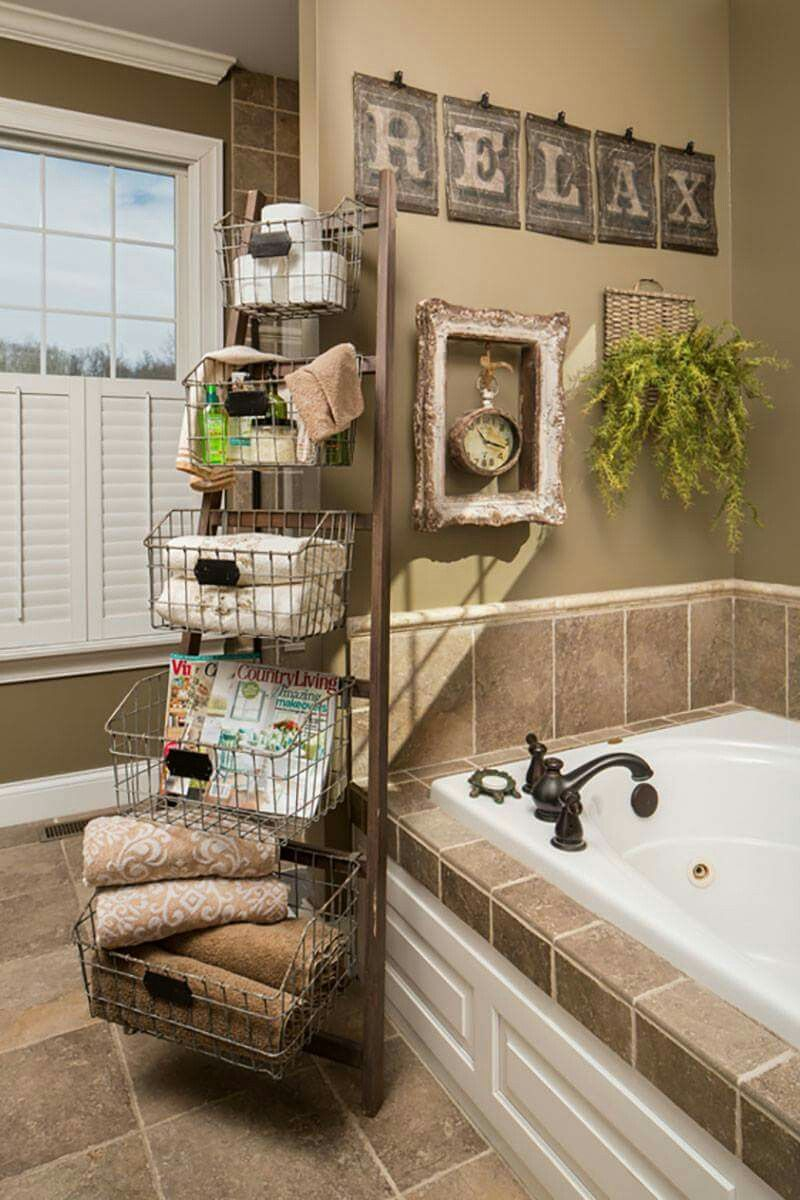 Ok So You Dont Have Room For The Ladder Baskets But The Wall Decor