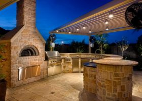 Outdoor Living Space Kitchen Ideas