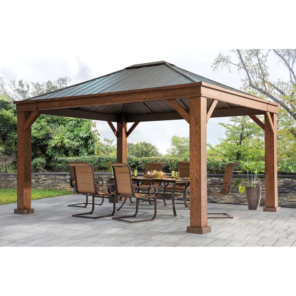Outdoor 10 10 Gazebo Walmart Gazebos And Canopies Canopy