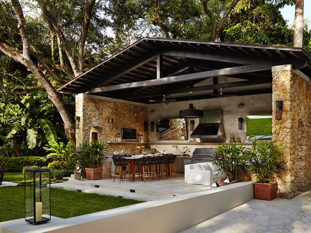 Outdoor Kitchens Living Spaces Sterling Landscaping Inc