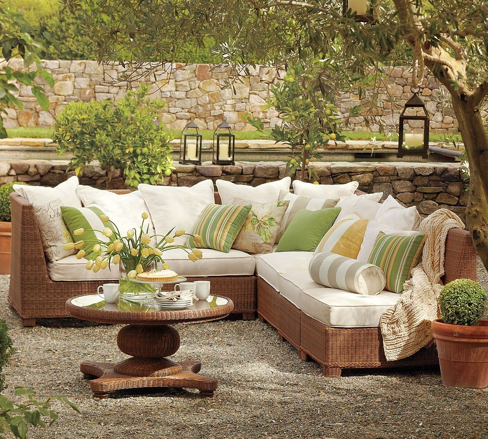 Outdoor Patio Furniture Sectional Garden Meaningful Use Home Designs