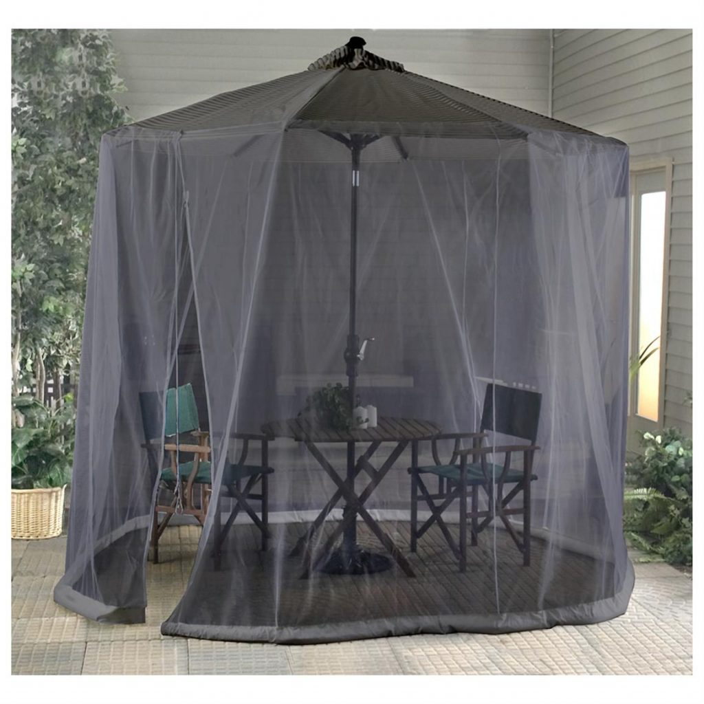 Outdoor Patio Umbrella Screen 177297 Patio Umbrellas At