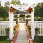 Garden Wedding with Gazebo