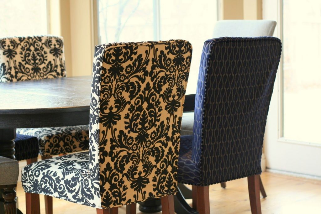 Painting Of Perfect Parsons Chairs Target Reupholstering
