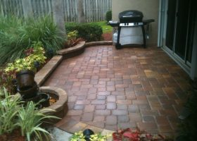 Small Brick Patio