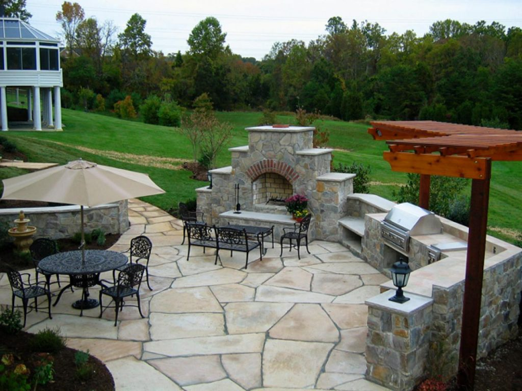 Perfect Backyard Patios Meaningful Use Home Designs