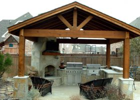Outdoor Kitchen Gazebo Design