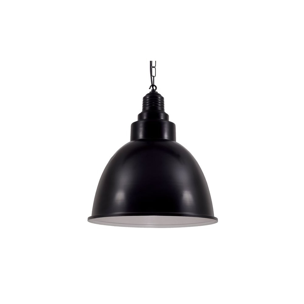 Powder Coated Black Industrial Pendant Lighting And Lights Uk