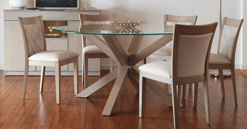 Quality Canadian Wood Furniture Dining Room