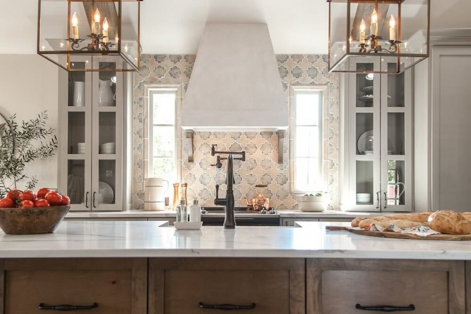 Raw Wood Kitchen Cabinets With Black Hardware Decorate Simply