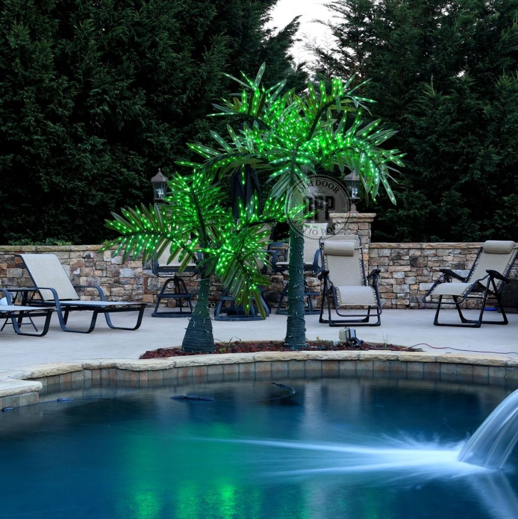Realistic Commercial Led Palm Tree 12 Feet Tall Build Your Own Oasis