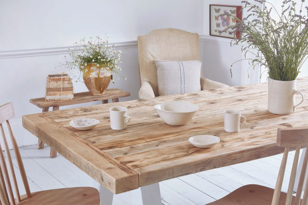 Reclaimed Wood Rustic Dining Table Home Barn