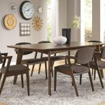Regular Height Casual Dining Mid Century Modern Dining Table Co