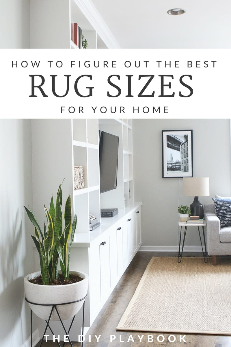 Rookie Tips For Buying The Right Size Rug The Diy Playbook