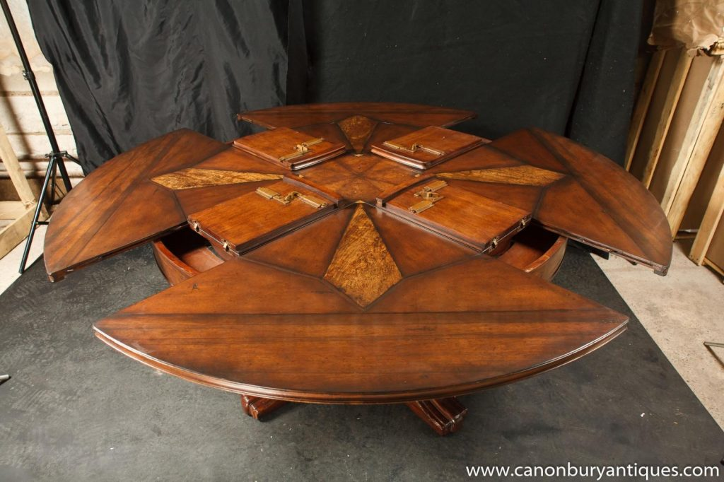 Round Expanding Table Plans Wwwtollebild