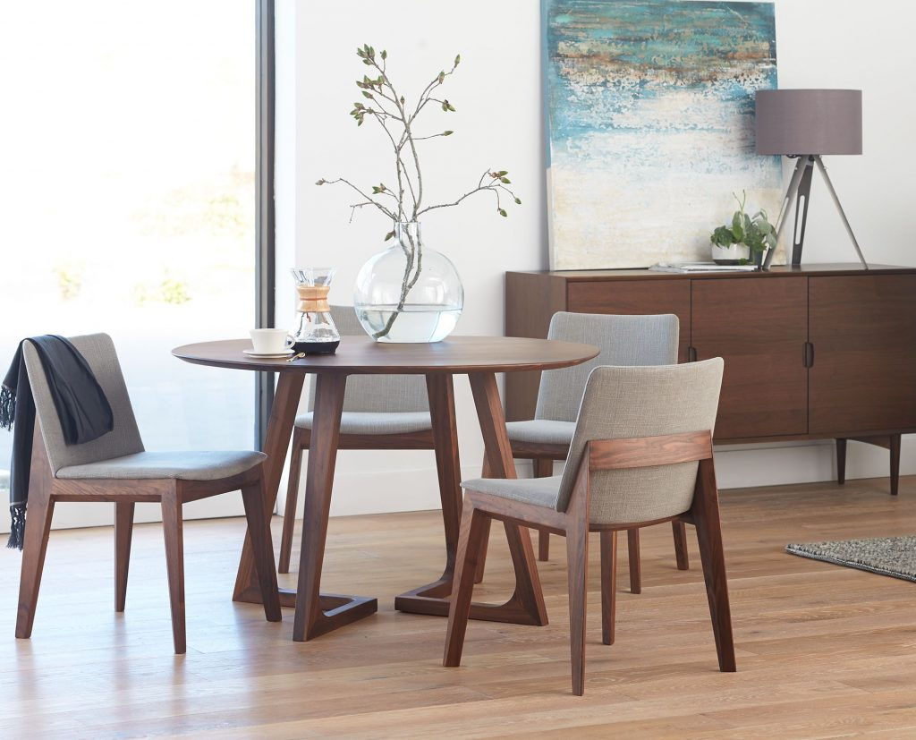 Round Table And Chairs From Dania Condo Pinterest Dining Room