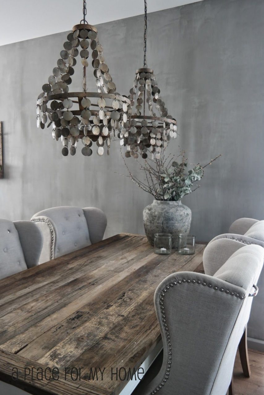 Rustic Glam Dining A Place For My Home Afscheid Nemen
