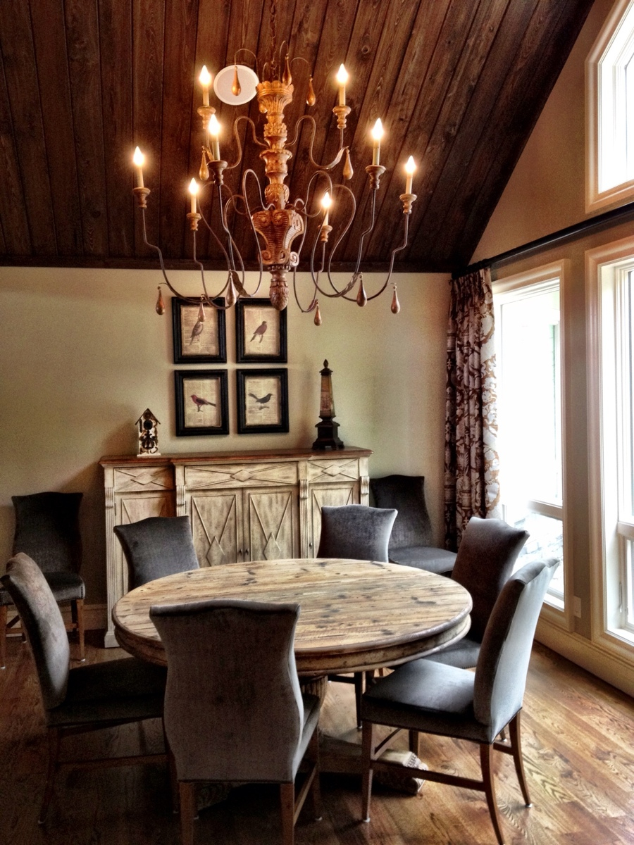 Rustic Glam Dining Room