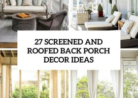 Curtain Covered Patio Design Ideas