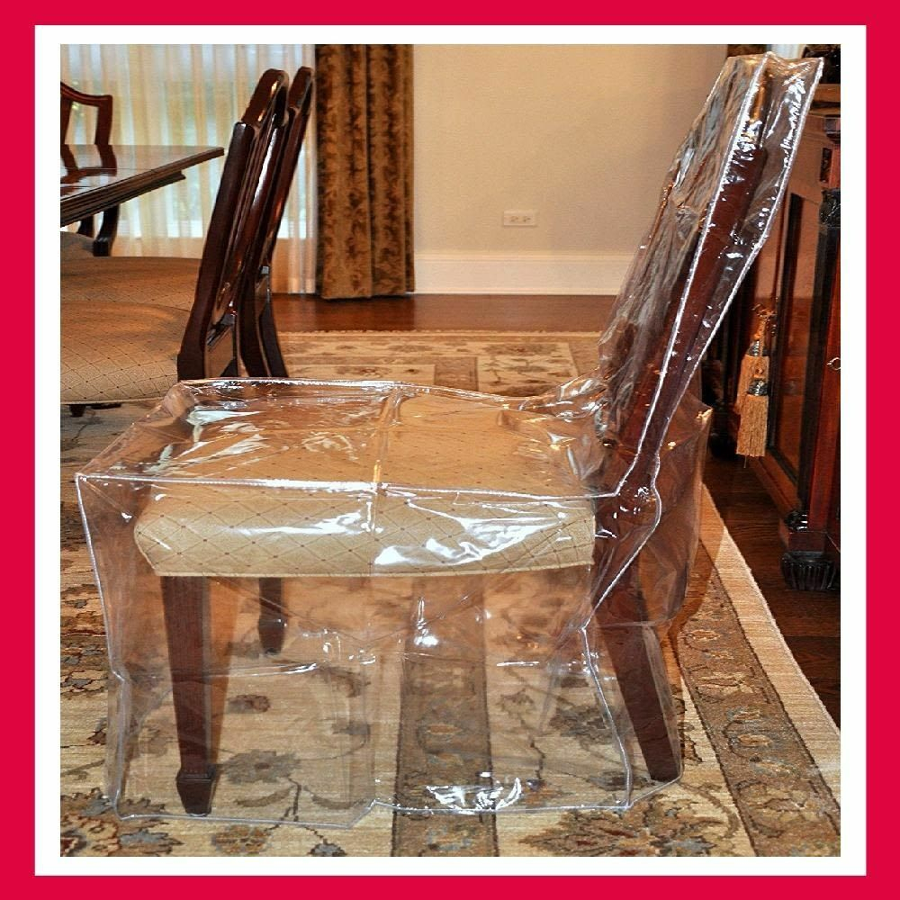 Seat Cover Furniture Protector Dining Room Chair Heavy Duty Glass