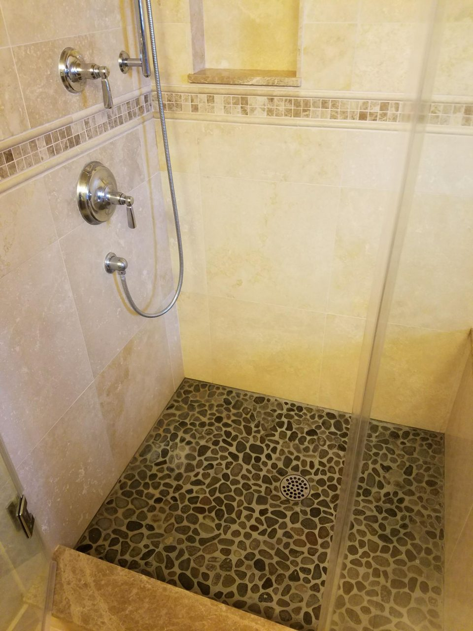 Shower Floor Renovation For Linda R In Tacoma Wa Sound
