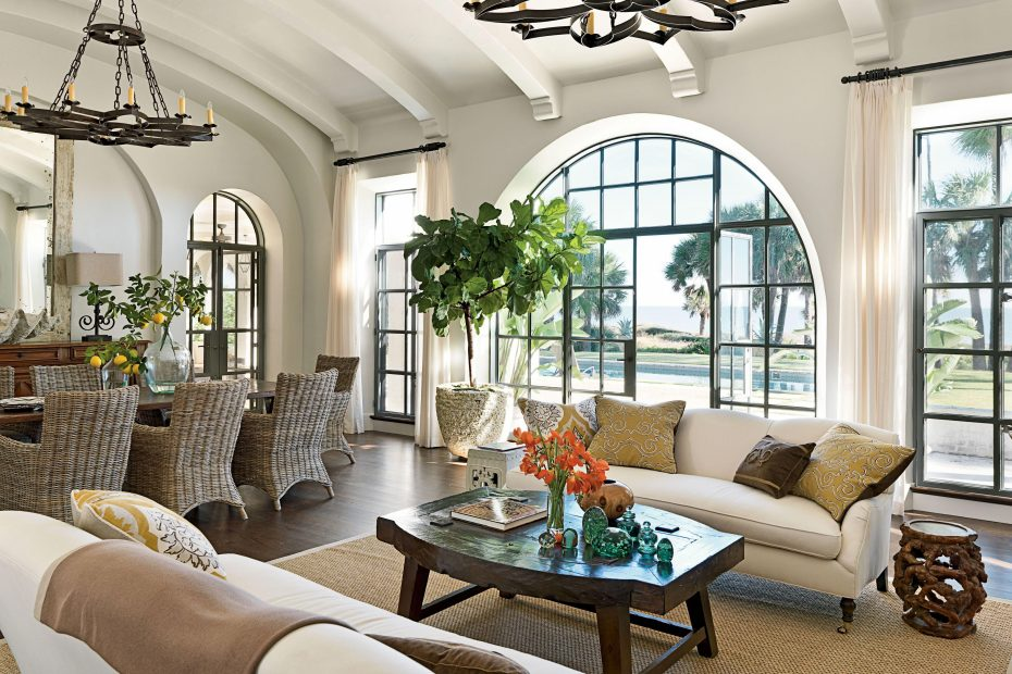 Spanish Style Living Room Spanishstylehomes Spanish Style Homes