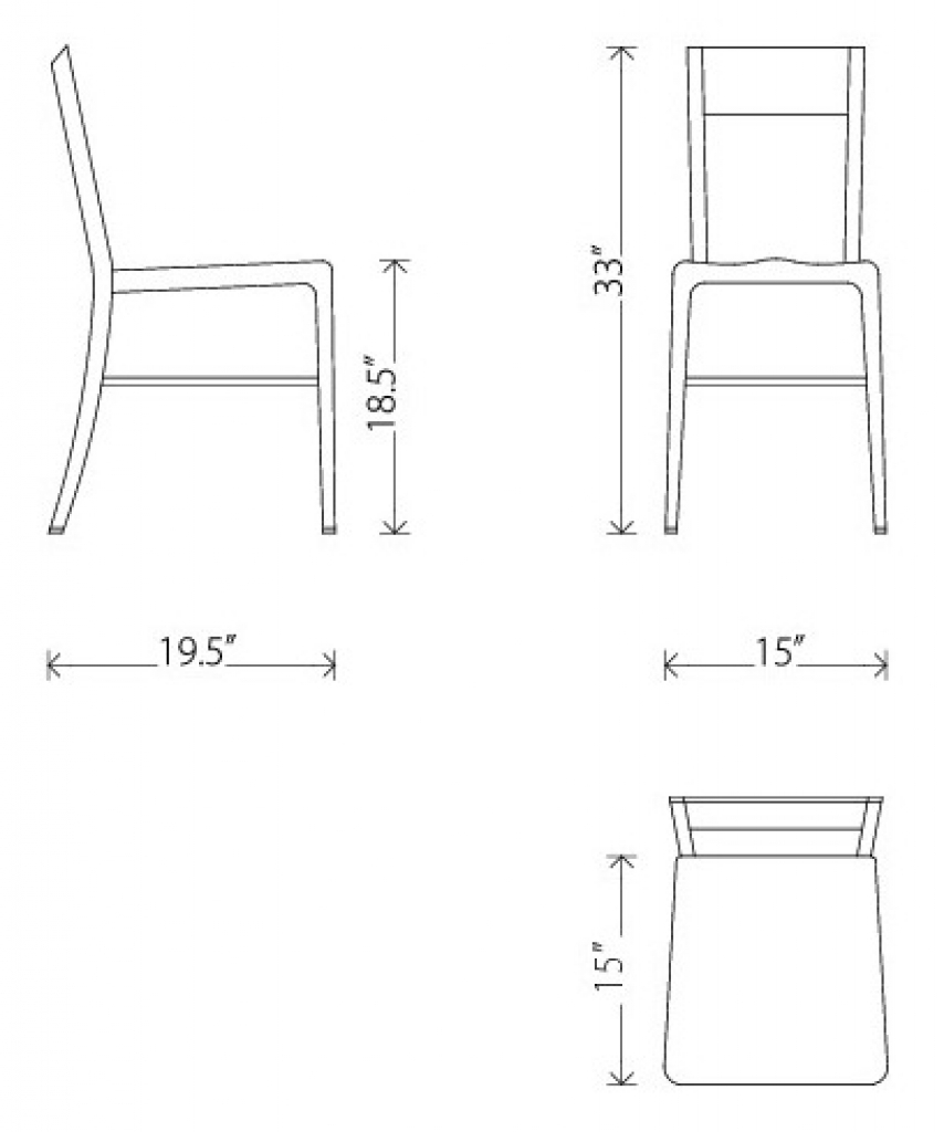 Standard Dining Room Chair Dimensions Slip Covers For Dining Chairs