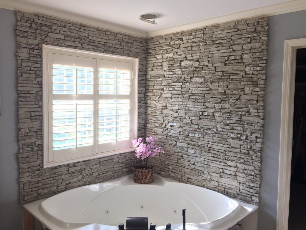 Stunning Corner Bathtub Wall Surround Building My House Bathroom